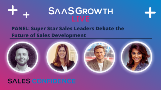 Moderated by Shabri Lakhani – CEO and Founder, SalesWorks: Superstar Sales Leaders Debate the Future of Sales Development